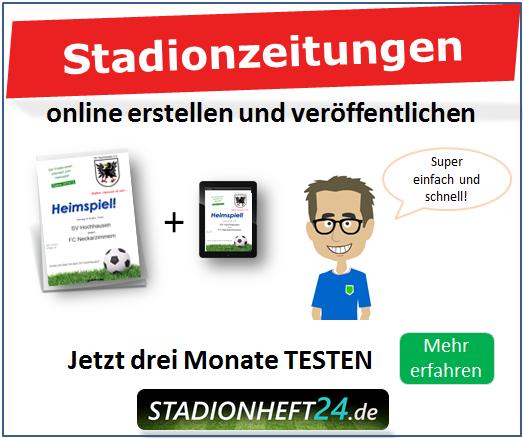 Vereins- und Stadionzeitungen online erstellen und ver�ffentlichen