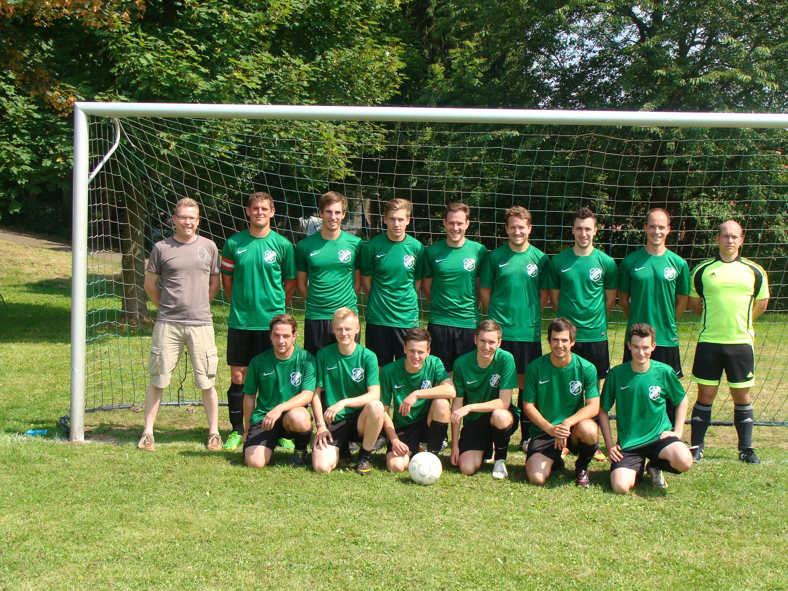 Teamfoto, Mannschaftsfoto TV/VfR Groß-Felda