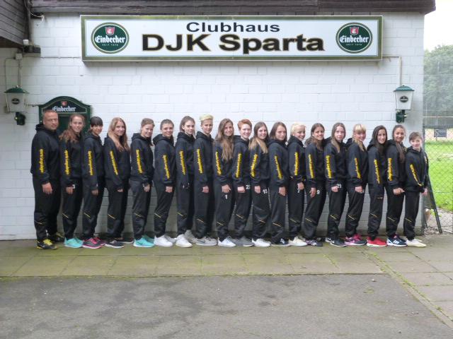 Mannschaftsfoto/Teamfoto von DjK Sparta Langenhagen