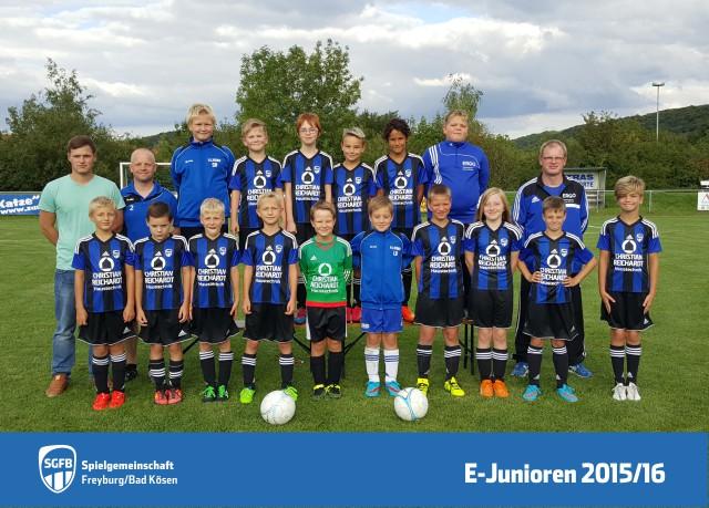 Teamfoto, Mannschaftsfoto SG Freyburg/Bad Kösen