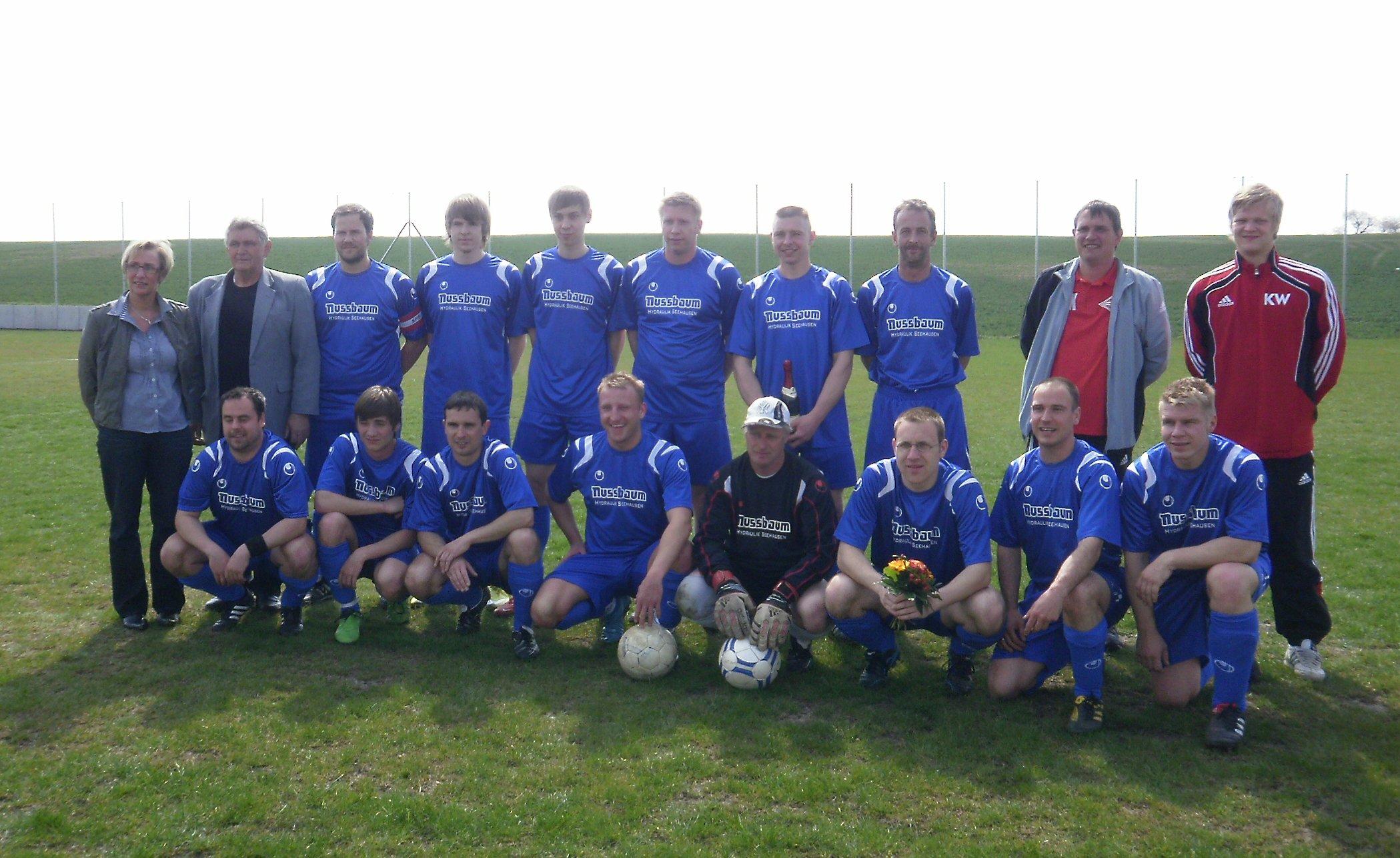 Mannschaftsfoto/Teamfoto von SV Seehausen/B�rde 2