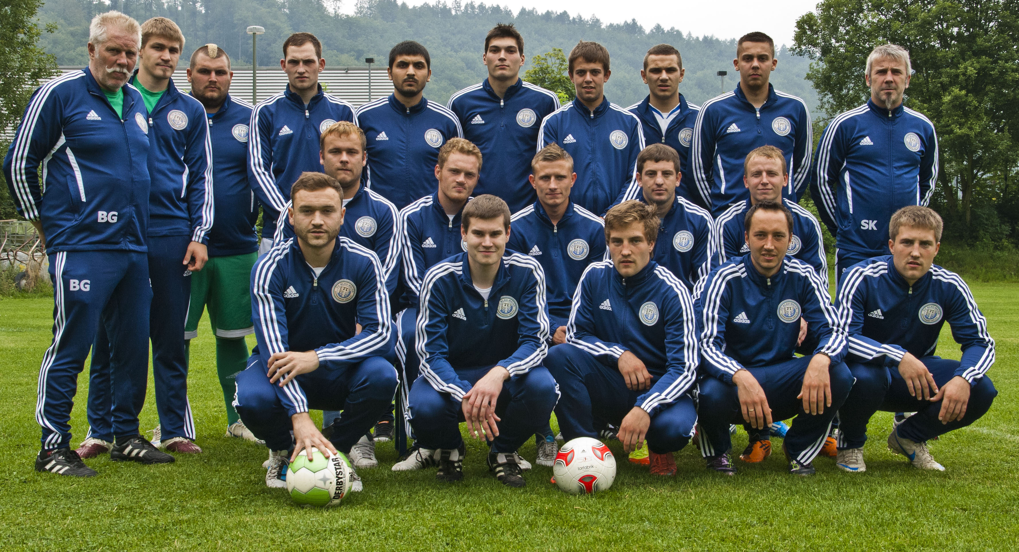 Mannschaftsfoto/Teamfoto von FC BW Giersk�mpen