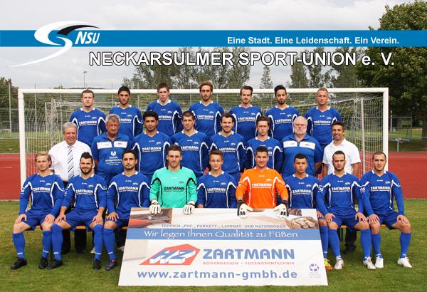 Mannschaftsfoto/Teamfoto von Neckarsulmer Sport-Union