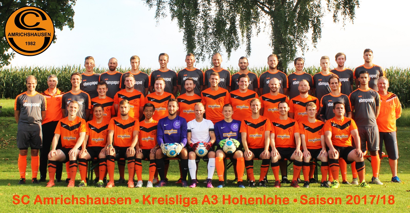 Mannschaftsfoto/Teamfoto von SC Amrichshausen
