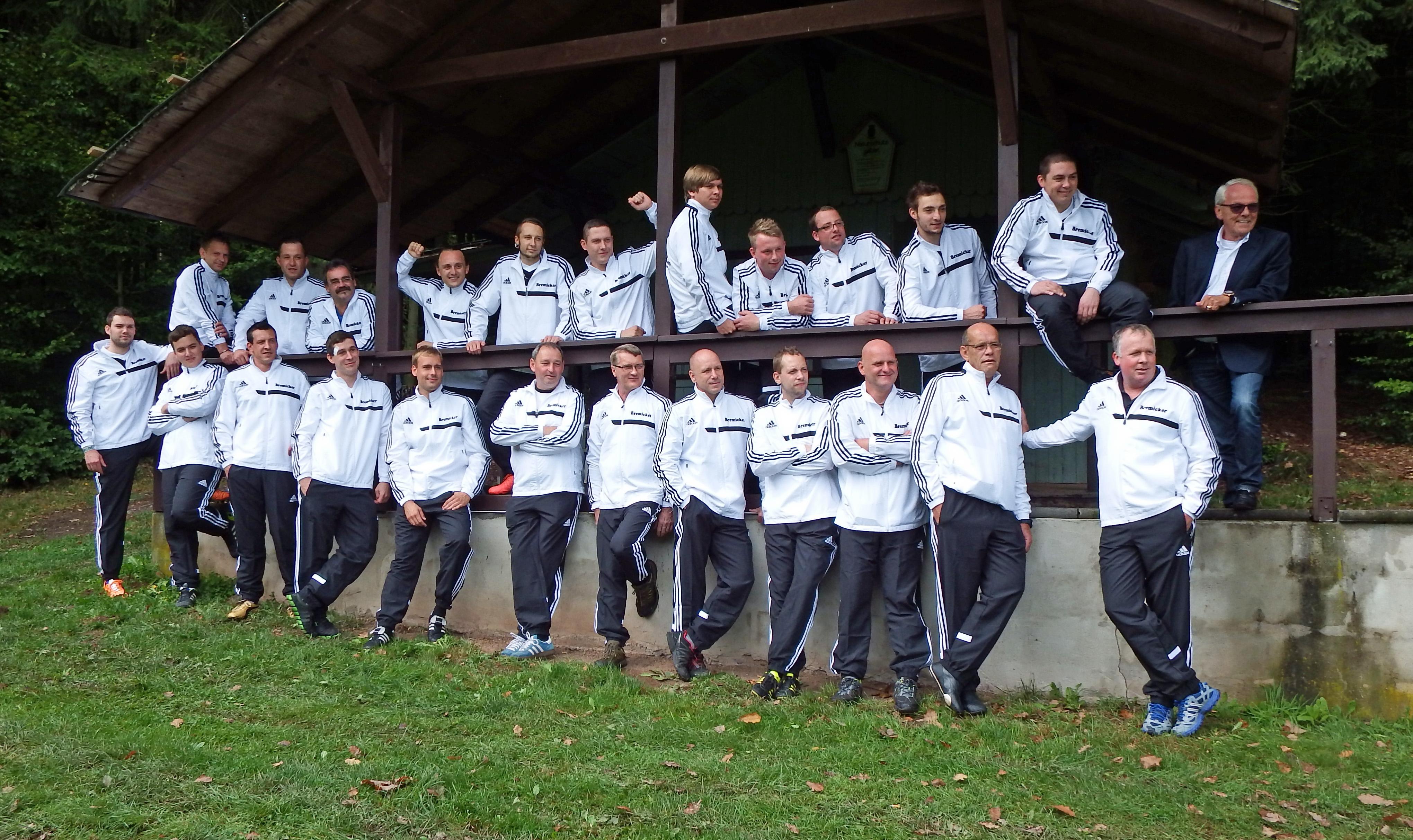 Mannschaftsfoto/Teamfoto von SV 1911 Mosbach
