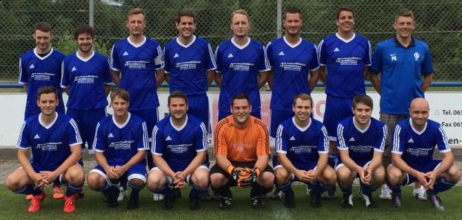 Teamfoto, Mannschaftsfoto SG Schoden 2