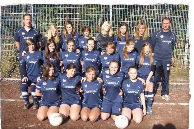 Mannschaftsfoto/Teamfoto von Groß-Flottbek