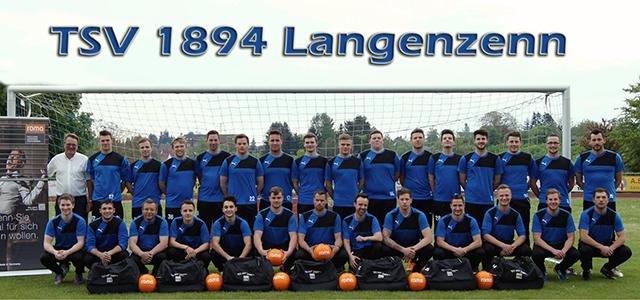 Teamfoto, Mannschaftsfoto TSV Langenzenn