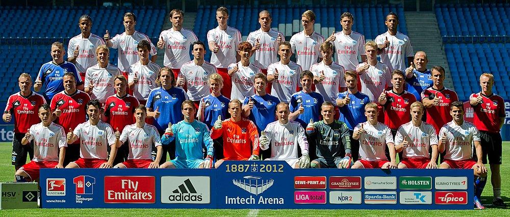 Teamfoto, Mannschaftsfoto Hamburger SV: Hamburger SV