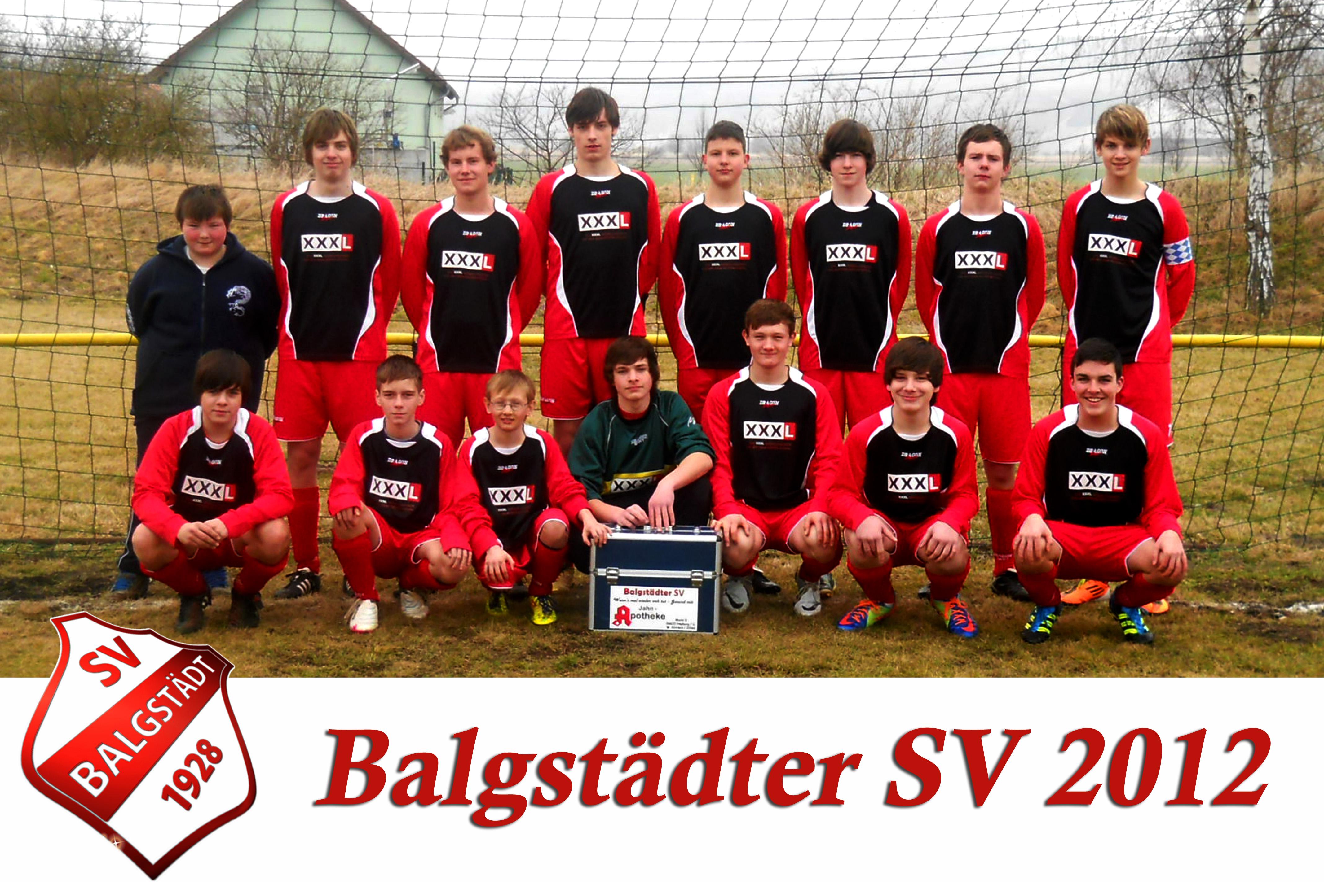 Mannschaftsfoto/Teamfoto von Balgstädter SV