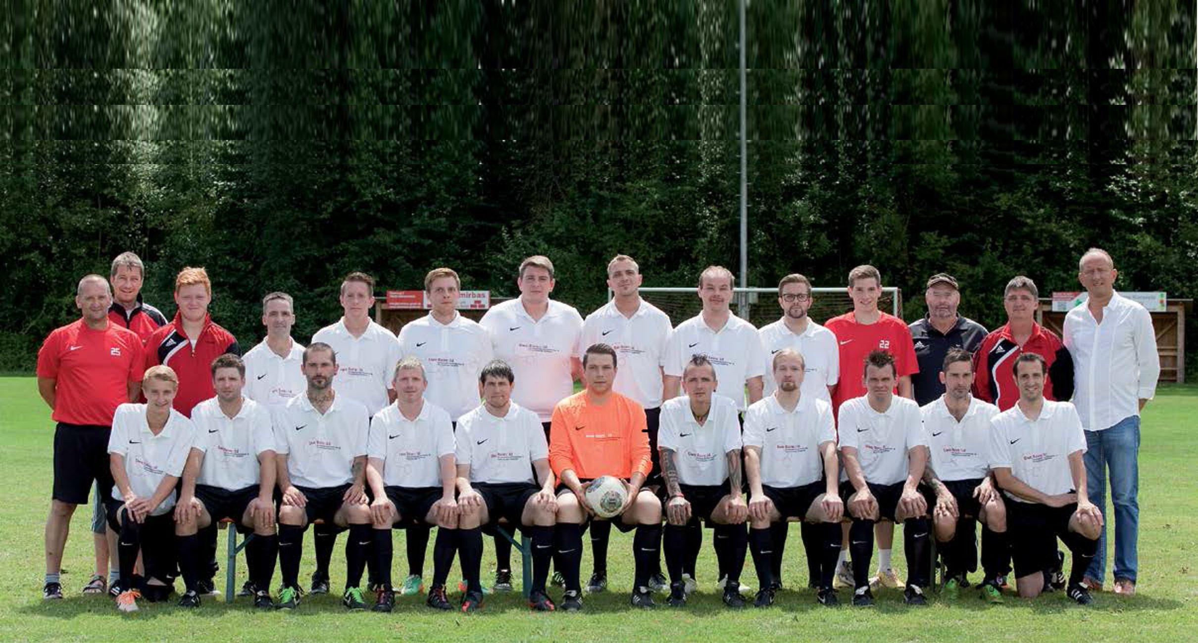 Teamfoto, Mannschaftsfoto SV Hochhausen