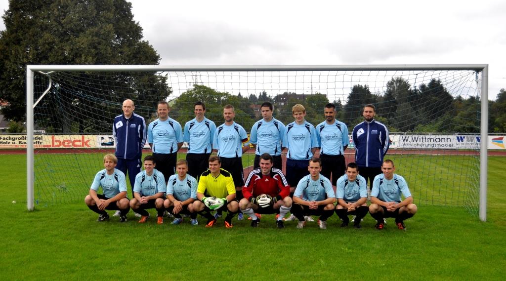 Teamfoto, Mannschaftsfoto TSV Langenzenn 2