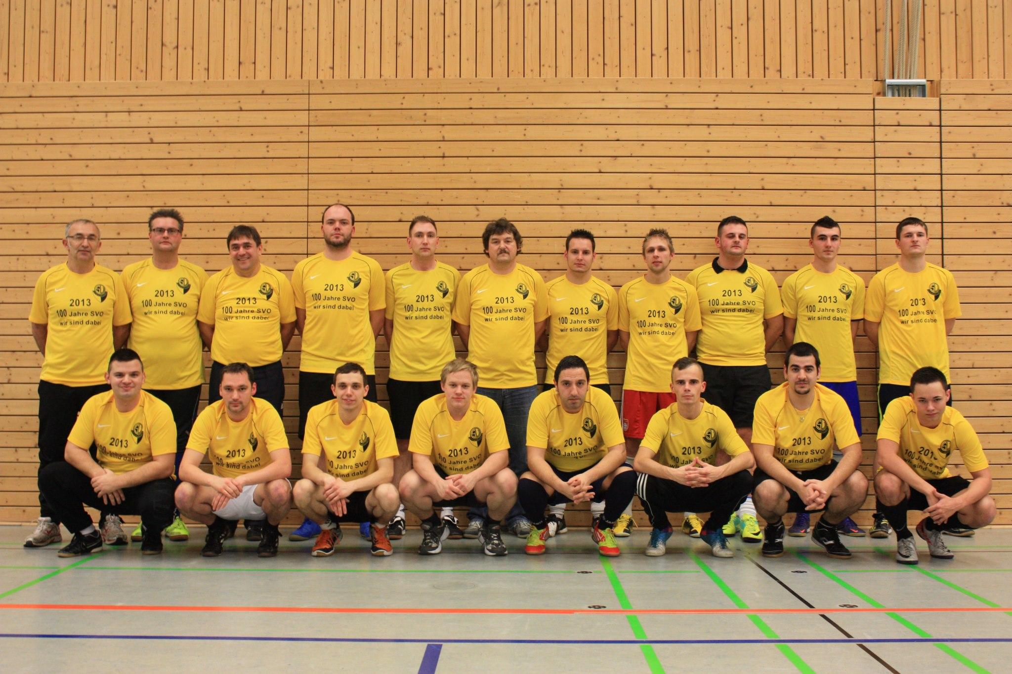 Mannschaftsfoto/Teamfoto von SV Ottenhausen