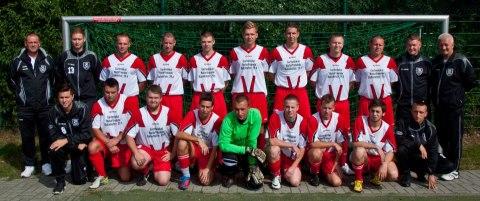 Teamfoto, Mannschaftsfoto Fortuna Babelsberg 3