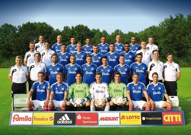 Teamfoto, Mannschaftsfoto Holstein Kiel