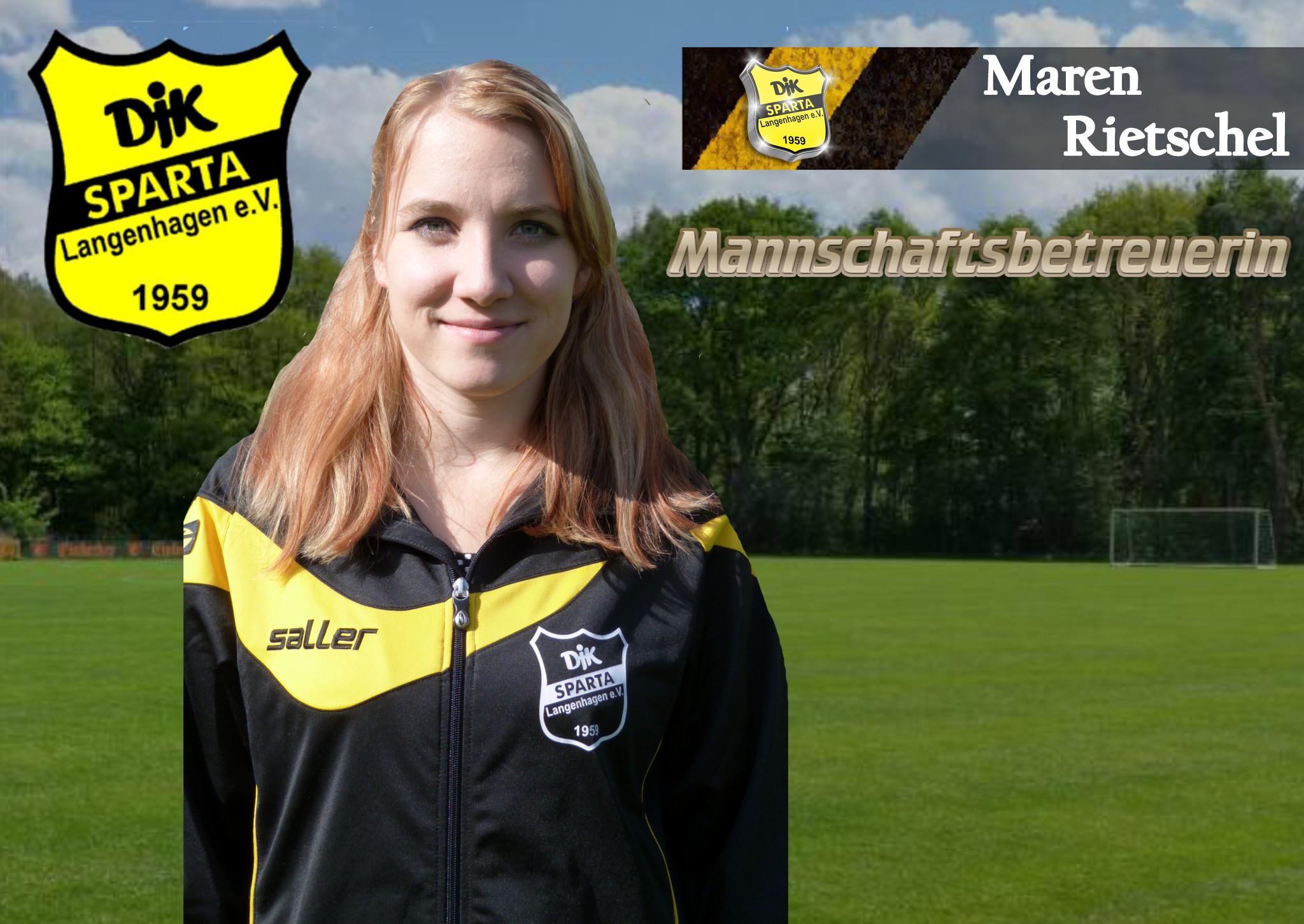 Foto / Portrait Betreuerin Maren Rietschel