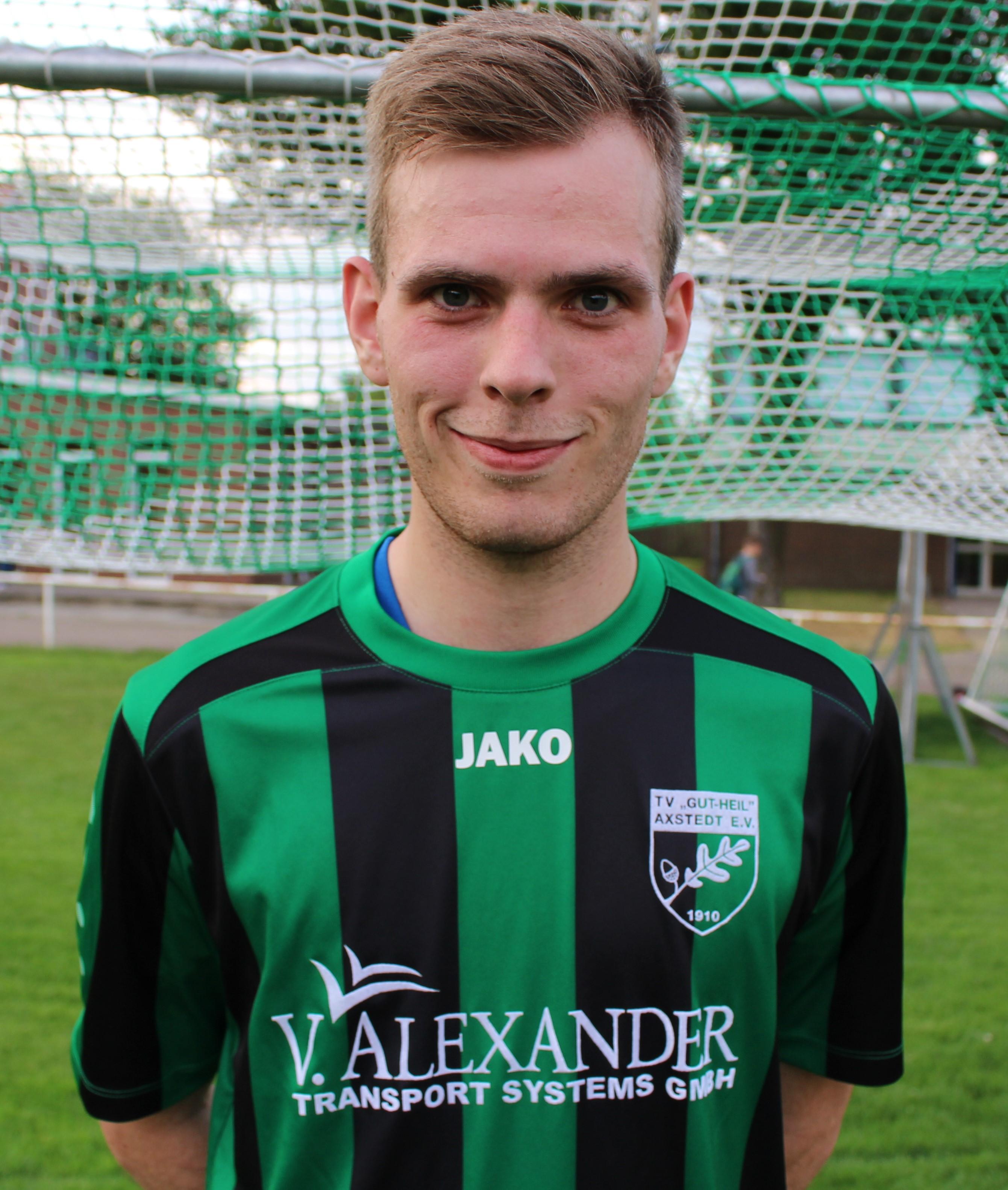 Foto / Portrait Spieler Nils Wendelken