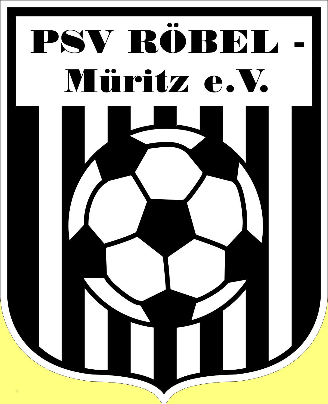 Wappen / Logo des Vereins PSV R�bel-M�ritz