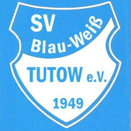 Wappen / Logo des Teams SV Blau-Weiß Tutow