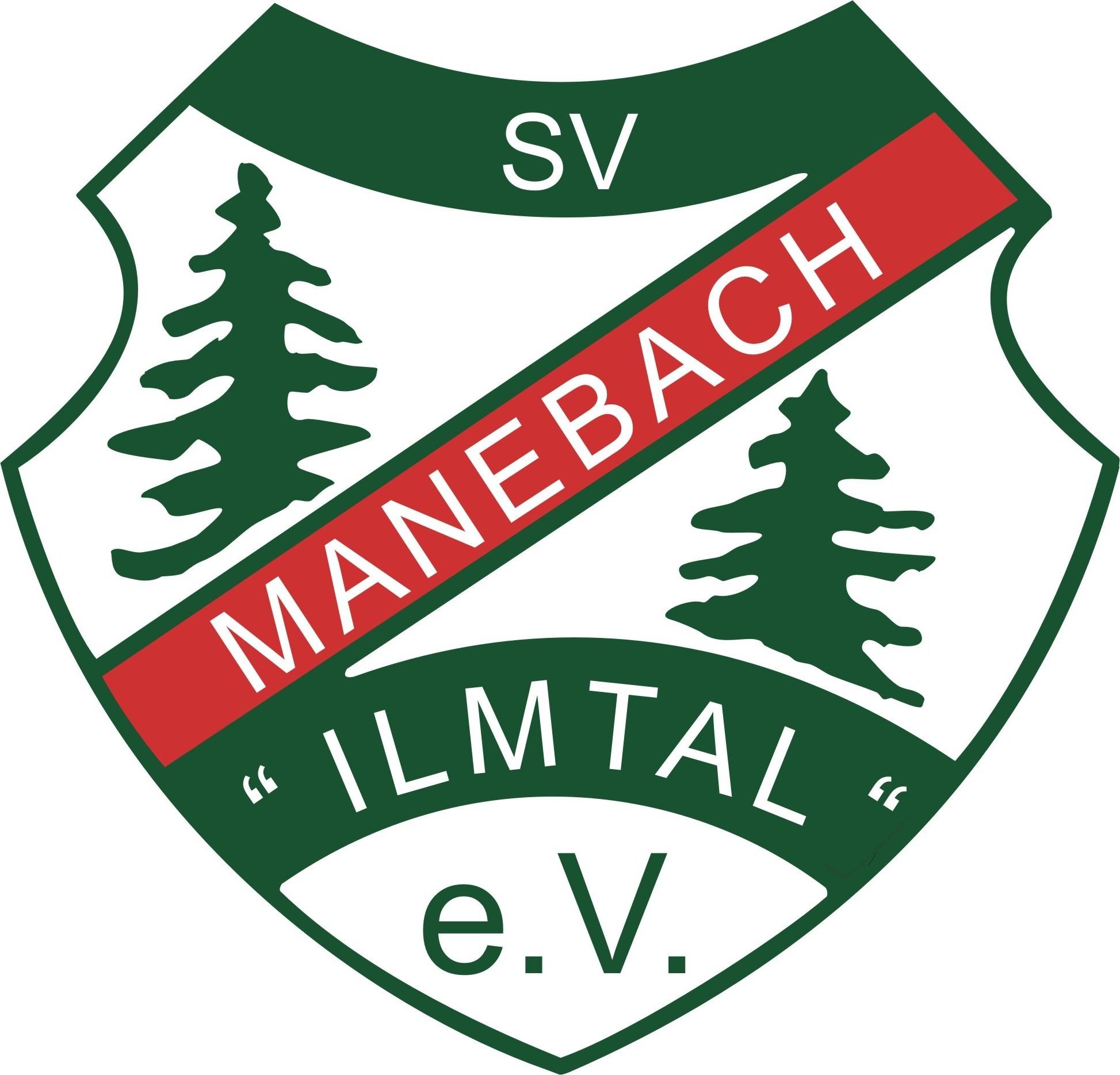 Wappen / Logo des Vereins SV Ilmtal Manebach