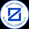 Wappen / Logo des Teams SV Blau-Wei� Zorbau