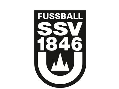 Wappen / Logo des Vereins SSV Ulm 1846 Fußball