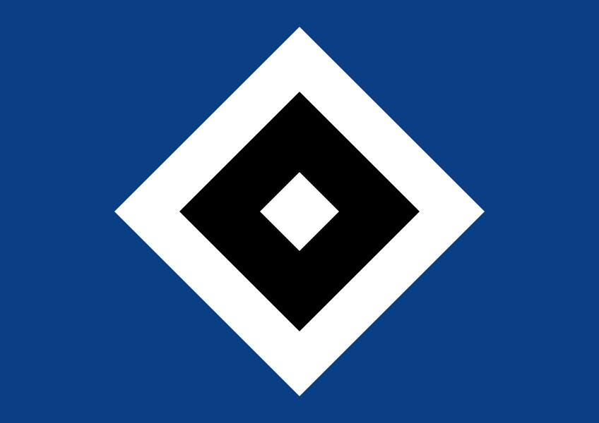 Wappen / Logo des Vereins Hamburger SV