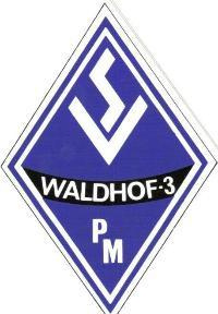 Wappen / Logo des Vereins SV Waldhof-Mannheim 07